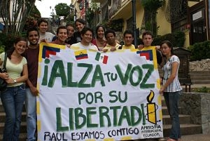 Activists in Guayaquil